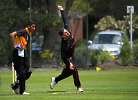Action from the Premier T20 Cup Wellington men's twenty20 cricket match between Wellington Collegians and Taita at Anderson Park in Wellington, New Zealand on Saturday, 9 January 2021. Photo: Dave Lintott / lintottphoto.co.nz