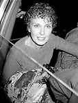 Joanne Woodward leaving the Circle In The Square Theatre on September 15, 1985 in New York City.