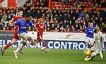 06.02.2019:Aberdeen v Rangers: Joe Lewis saves from Alfredo Morelos
