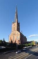 Jakobikirche (Sw. Jakuba) in Stettin (Szczecin), Woiwodschaft Westpommern (Województwo zachodniopomorskie), Polen, Europa<br /> Church Sw. Jakuba  in Szczecin, Poland, Europe