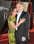 Jennifer Grey and Clark Gregg  at The Marvel Studios Premiere of THOR held at The El Capitan Theatre in Hollywod, California on May 02,2011                                                                               © 2010 Hollywood Press Agency