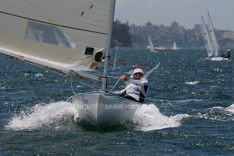 Finn class at the Sydney International Regatta 2008..Held annually the Sydney International Regatta (SIRs)  has been categorized by ISAF as a Grade 1 event of the Laser, Laser Radial, Finn, 470, 49er and RS:X. A Grade 2 event for the Ynglings, however this year will include the Yngling Australian Championships..Other classes invited include the Moth, 420, 29er Laser 4.7 and the A Class Catamaran. This year the A Class Catamaran is holding their World Championships at Belmont, NSW and the SIRs will be a Pre Worlds regatta for the Class.  Entries are restricted to 25 and A Class competitors are invited to enter through their association.