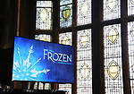Atmosphere at the press day for 'Frozen' The Broadway Musical on February 13, 2018 at the Highline Hotel in New York City.