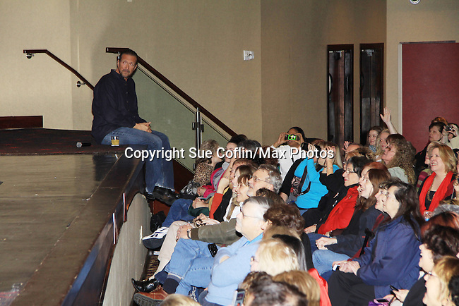 """Fans  - A Tribute to Pine Valley - All My Children's Walt Willey """"Jack"""" on February 16, 2013 with fans for Q&A, autographs, photos at Foxwoods Resorts Casino in Mashantucket, CT and February 17, 2013 at Valley Forge Casino Resort in King of Prussia, PA. (Photo by Sue Coflin/Max Photos)"""