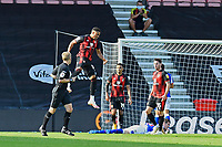 Arnaut Danjuma of Bournemouth celebrates scoring the third and winning goal during AFC Bournemouth vs Blackburn Rovers, Sky Bet EFL Championship Football at the Vitality Stadium on 12th September 2020