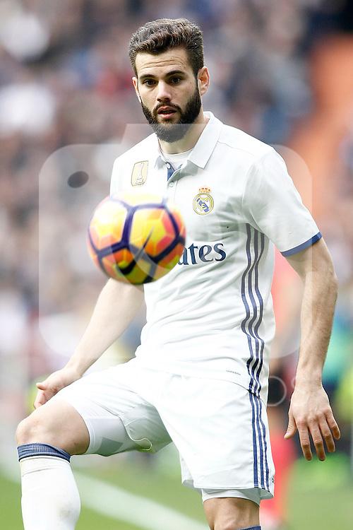 Real Madrid's Nacho Fernandez during La Liga match. February 18,2017. (ALTERPHOTOS/Acero)