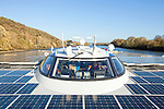 The Race for Water Solar Vessel on the Seine River.<br />