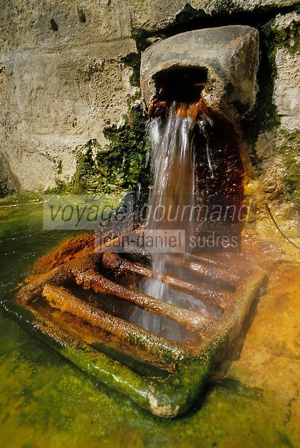 Europe/France/Auvergne/15/Cantal/Chaudes AIgues: Les sources d'eau chaude
