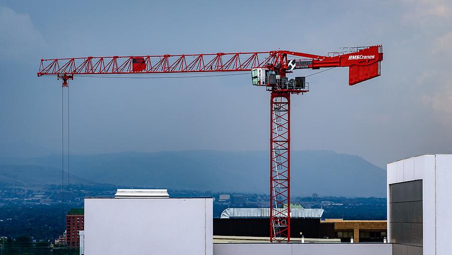 Construction in Cherry Creek North, Denver