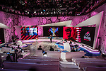 The presentation of the 2021 Giro d'Italia Route in the Rai Studios in Corso Sempione, Milan, Italy. 23rd February 2021.  <br /> Picture: LaPresse/Claudio Furlan | Cyclefile<br /> <br /> All photos usage must carry mandatory copyright credit (© Cyclefile | LaPresse/Claudio Furlan)