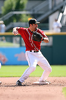 August 22 2008:  Tony Graffanino of the Buffalo Bisons, Class-AAA affiliate of the Cleveland Indians, during a game at Dunn Tire Park in Buffalo, NY.  Photo by:  Mike Janes/Four Seam Images