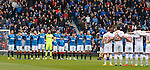 Billy Simpson remembered before the match