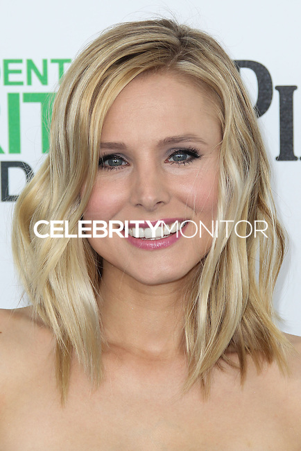 SANTA MONICA, CA, USA - MARCH 01: Kristen Bell at the 2014 Film Independent Spirit Awards held at Santa Monica Beach on March 1, 2014 in Santa Monica, California, United States. (Photo by Xavier Collin/Celebrity Monitor)
