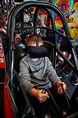 Dragster simulator, fan, pitpass