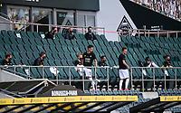 23rd May 2020, BORUSSIA-PARK, North Rhine-Westphalia, Germany; Bundesliga football, Borussia Moenchengladbach versus Bayer Leverkusen;  Mönchengladbach substitutes in the stands