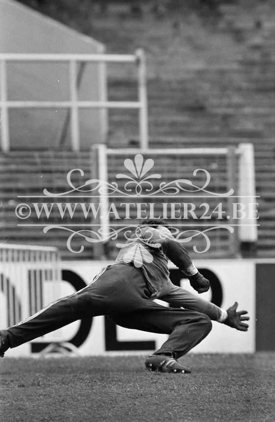 1977. RSC Anderlecht. Doelman Jan Ruiter.