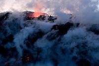 Volcano Eruption in Iceland, Fimmvorduhals
