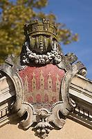 Europe/France/Midi-Pyrénées/46/Lot/Cahors: La Fontaine Clément Marot construite en 1895 -  représentant le Pont Vieux détruit au moyen age