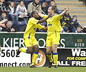 20/10/2007       Copyright Pic: James Stewart.File Name : sct_jspa02_falkirk_v_kilmarnock.FRAZER WRIGHT CELEBRATES AFTER HE SCORES KILMARNOCK'S FIRST.James Stewart Photo Agency 19 Carronlea Drive, Falkirk. FK2 8DN      Vat Reg No. 607 6932 25.Office     : +44 (0)1324 570906     .Mobile   : +44 (0)7721 416997.Fax         : +44 (0)1324 570906.E-mail  :  jim@jspa.co.uk.If you require further information then contact Jim Stewart on any of the numbers above........