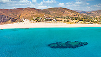 The shipwreck at the beach Potami in Evia island, Greece