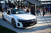 SAN JOSE, CA - SEPTEMBER 4: Audi before a game between Colorado Rapids and San Jose Earthquakes at PayPal Park on September 4, 2021 in San Jose, California.