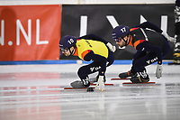 SCHAATSEN: HEERENVEEN: 12-12-2020, IJsstadion Thialf, Shorttrack, NK Shorttrack Afstanden, ©foto Martin de Jong