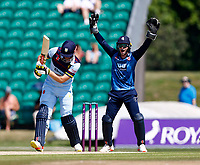 Ollie Robinson appeals for Kent during Kent Spitfires vs Durham, Royal London One-Day Cup Cricket at The Spitfire Ground on 22nd July 2021