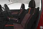 Front seat view of a 2015 Nissan Versa Note 5 Door Hatchback front seat car photos