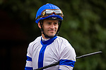 JULY 24, 2021: Flavien Prat at the Del Mar Fairgrounds in Del Mar, California on July 24, 2021. Evers/Eclipse Sportswire/CSM