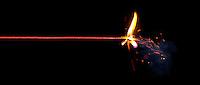 Fuse burning.