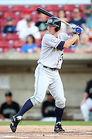 September 10, 2009: David Wood of the Burlington Bees. The Bees are the Midwest League affiliate for the Kansas City Royals. Photo by: Chris Proctor/Four Seam Images