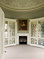 A series of refined neo-classical rooms were created by Robert Mylne in the late 18th century for the 5th Duke of Argyll