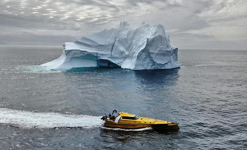 Thunder Child II encounters an iceberg off Greenland