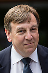 © Joel Goodman - 07973 332324 - all rights reserved . 17/07/2015 . Manchester , UK . JOHN WHITTINGDALE OBE , MP for Maldon and Secretary of State for Culture Media and Sport , visits the newly extended and refurbished Whitworth Art Gallery , in Manchester . The venue has been  nominated for this year's (2015) Riba Stirling Prize for the UK's best new building . Photo credit: Joel Goodman
