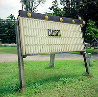 Closed sign<br />