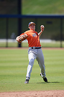Houston Astros Jacob Meyers (96) during a Minor League Spring Training Intrasquad game on March 28, 2018 at FITTEAM Ballpark of the Palm Beaches in West Palm Beach, Florida.  (Mike Janes/Four Seam Images)