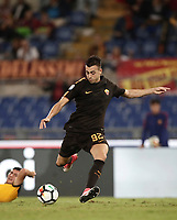 Calcio, Serie A: Roma, stadio Olimpico, 16 settembre 2017.<br /> Roma's Stephan El Shaarawy in action during the Italian Serie A football match between AS Roma and Hellas Verona at Rome's Olympic stadium, September 16, 2017.<br /> UPDATE IMAGES PRESS/Isabella Bonotto