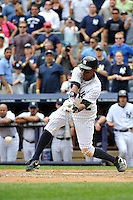New York Yankees outfielder Curtis Granderson #14 during a game against the Texas Rangers at Yankee Stadium on June 16, 2011 in Bronx, NY.  Yankees defeated Rangers 3-2.  Tomasso DeRosa/Four Seam ImagesNew York Yankees outfielder Curtis Granderson #14 during a game against the Texas Rangers at Yankee Stadium on June 16, 2011 in Bronx, NY.  Yankees defeated Rangers 3-2.  Tomasso DeRosa/Four Seam Images