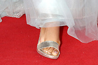 LOS ANGELES - JUN 13:  Sydney Mikayla shoe detail at the 48th Daytime Emmy Awards Press Line - June 13 at the ATI Studios on June 13, 2021 in Burbank, CA
