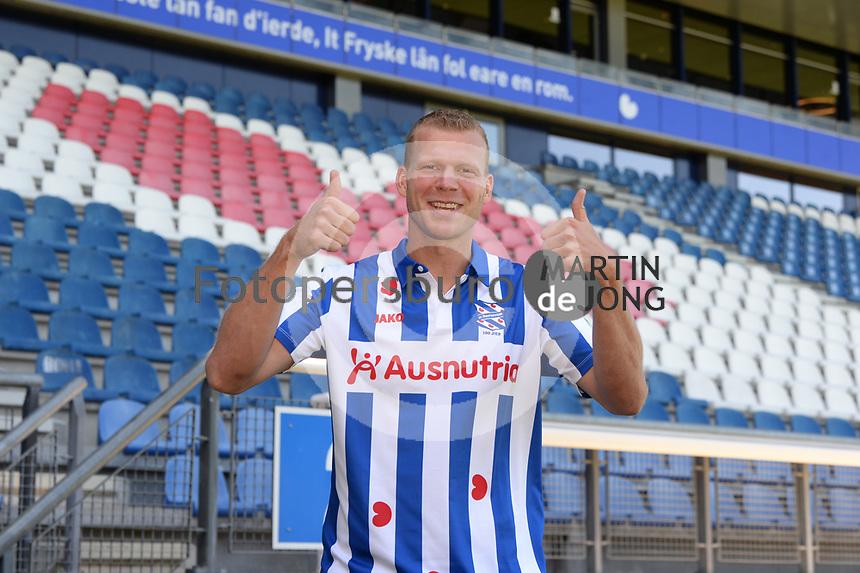 VOETBAL: HEERENVEEN: 28-08-2020, SC Heerenveen presentatie Henk Veerman, ©foto Martin de Jong