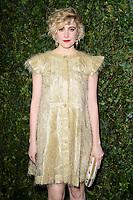 Greta Gerwig<br /> arriving for the 2018 Charles Finch & CHANEL Pre-Bafta party, Mark's Club Mayfair, London<br /> <br /> <br /> ©Ash Knotek  D3380  17/02/2018