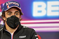 26th August 2021; Spa Francorchamps, Stavelot, Belgium: FIA F1 Grand Prix of Belgium, driver arrival day:  14 Fernando Alonso ESP, Alpine F1 Team