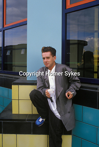 Holly Johnson. lead singer in the Pop Band Frankie Goes to Hollywood. London UK