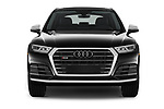 Car photography straight front view of a 2018 Audi SQ5 Premium Plus 5 Door SUV