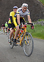 2106/15<br /> <br /> Tandem near Tissington.<br /> <br /> Three Thousand cyclists riding vintage machines, all older than 1987, take to the hills of the Peak District in Derbyshire, as part of the Eroica Britannia Festival held in Bakewell this weekend.<br /> <br /> All Rights Reserved: F Stop Press Ltd. +44(0)1335 418629   www.fstoppress.com.