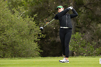 STANFORD, CA - APRIL 25: Briana Chacon at Stanford Golf Course on April 25, 2021 in Stanford, California.