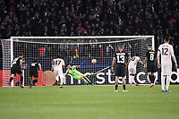 10 MARCUS RASHFORD (MAN) - 01 GIANLUIGI BUFFON (PSG) - PENALTY - goal<br /> Parigi 6-03-2019 <br /> Paris Saint Germain - Manchester United <br /> Champions League 2018/2019<br /> Foto Anthony Bibard / Panoramic / Insidefoto