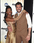 """Brandy and  Maksim Chmerkovskiy  at Dancing with the Stars """"Season 11 Premiere"""" at CBS on September 20, 2010 in Los Angeles, California on September 20,2010                                                                               © 2010 Hollywood Press Agency"""
