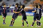 (L to R) Shiori Kinoshita (JPN), Yoko Tanaka (JPN), .AUGUST 26, 2012 - Football / Soccer : .FIFA U-20 Women's World Cup Japan 2012, Group A .match between Japan 4-0 Switzerland .at National Stadium, Tokyo, Japan. .(Photo by Daiju Kitamura/AFLO SPORT) [1045]
