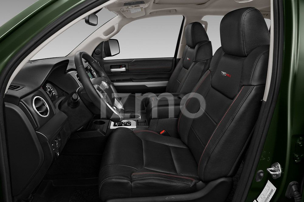 Front seat view of 2020 Toyota Tundra TRD-Pro 4 Door Pick-up Front Seat  car photos